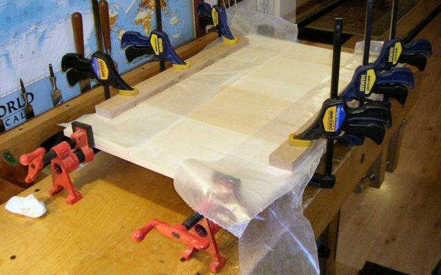 Keystick Boards Glue Up