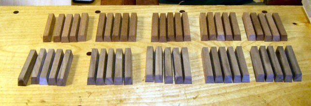 Harpsichord Sharp Blanks