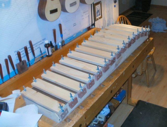 Harpsichord - Completed Bentside Jig