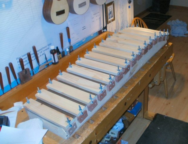 Harpsichord - Completed Bentside Jig
