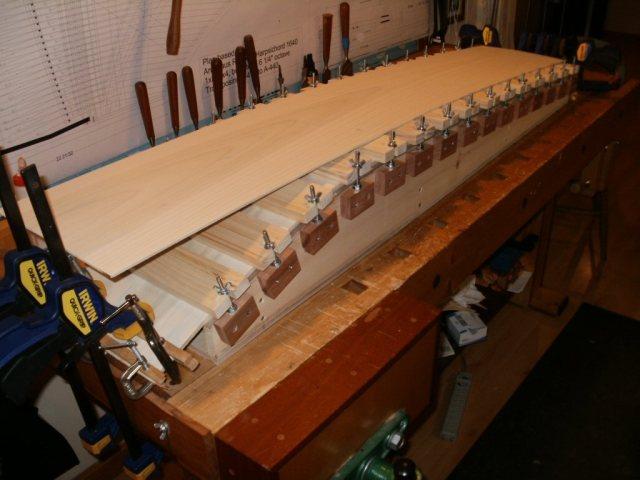"""Harpsichord - Bending the """"Bentside"""" in the Jig"""