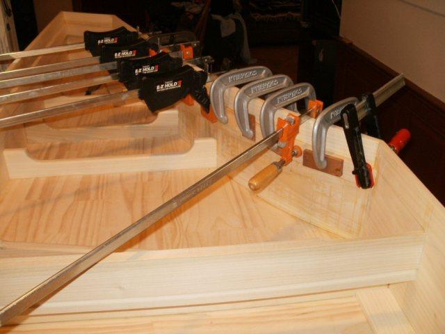 Harpsichord - Installing liners