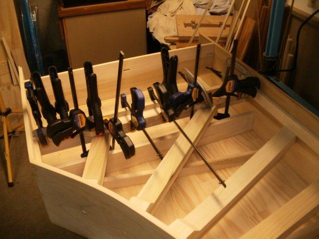 Harpsichord - Installing Belly Stiffener
