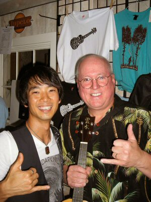Meeting Jake Shimabukuro