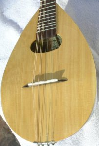 Restored Neapolitan Mandolin After