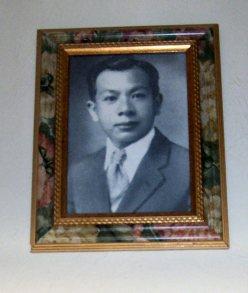 Samuel Kamaka, found of Kamaka 'ukuleles in Hawaii