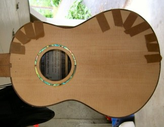 Installing binding on 'Ukulele 4