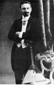 Vasilij Vasilevich Andrejev, 1861-1918 - Father of the Balalaika