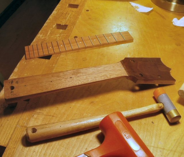 Neck and Bolivian Rosewood Fingerboard
