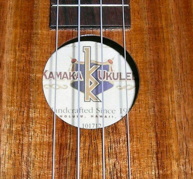 My Kamaka Concert 'uke