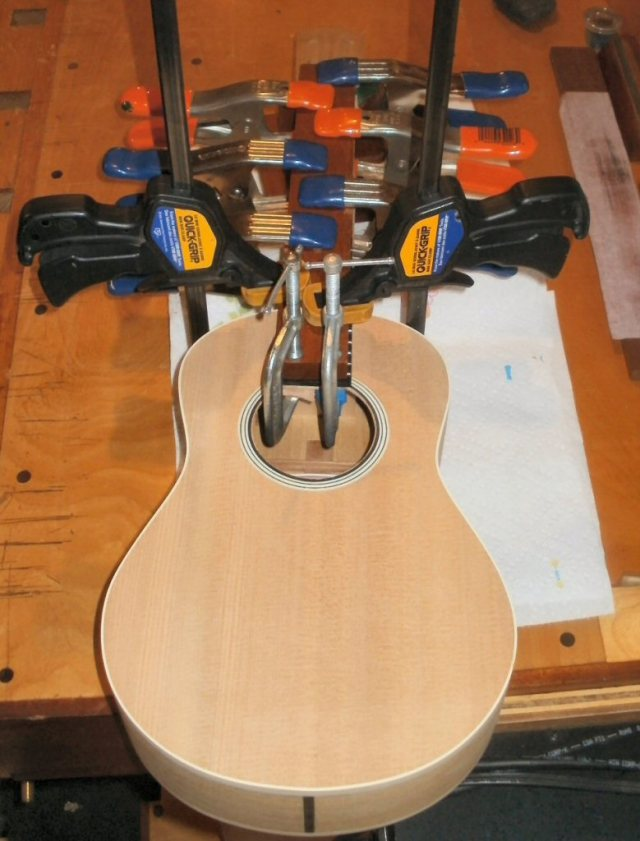 Installing the Fingerboard