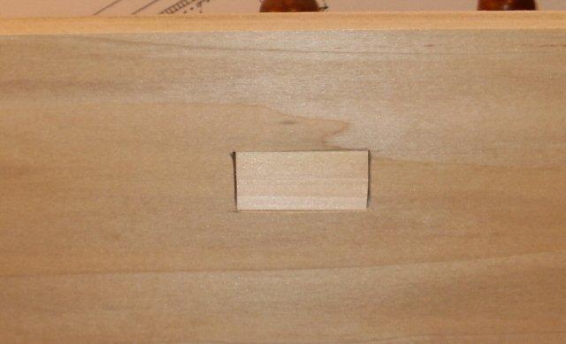 Register Window - from inside case