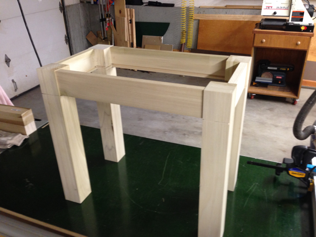 Bench Dry Assembled