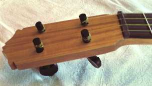Flamenco Ukulele Headstock