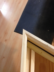 Harpsichord Mouldings Installed