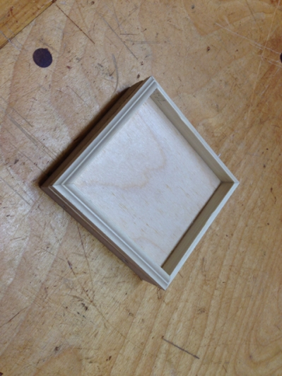 Completed Mold box