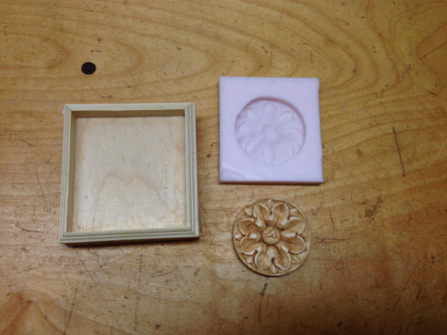 Silicon mold of Rosette