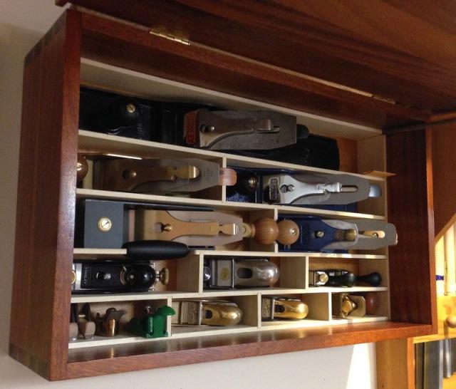 Mahogany Plane Cabinet