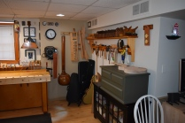 and around the corner, cabinet, tool chest, tool rack