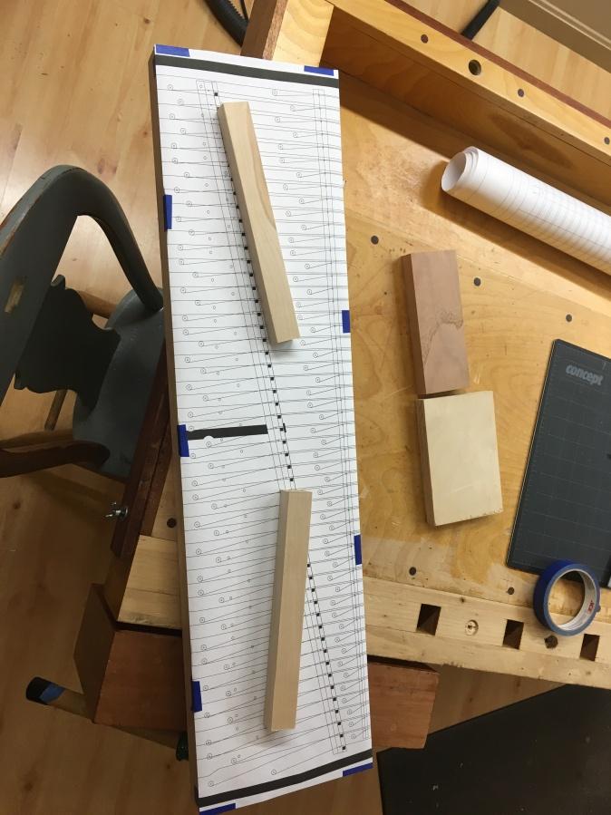Pin Block Template
