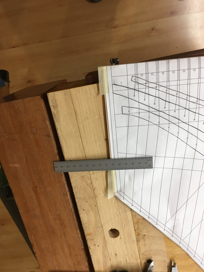 Calculating placement of highest 8' string