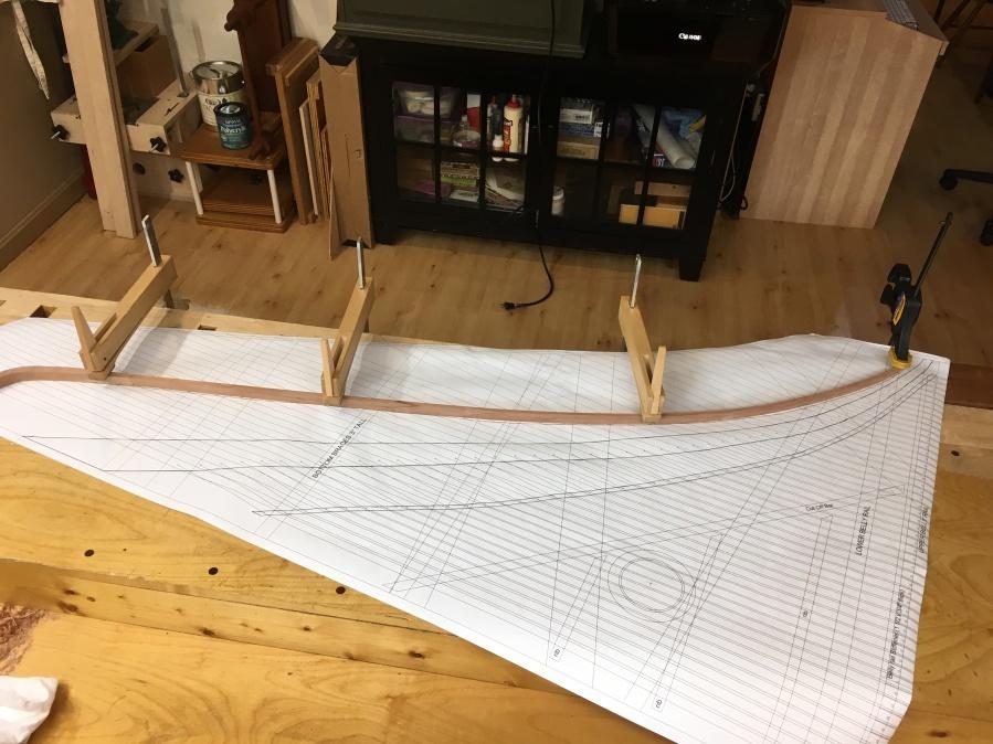 Locating the 8' Bridge